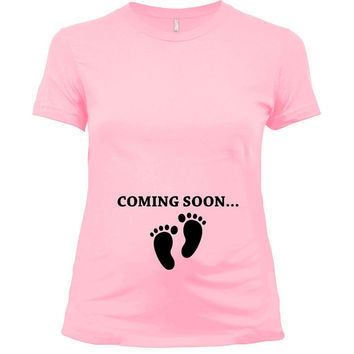 Expecting Announcement Shirt Pregnancy Clothes Maternity T Baby Shower Gifts For New Mom Tshirt Mother