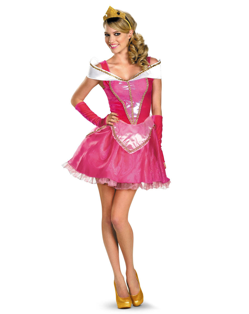Deluxe princess costumes for adults