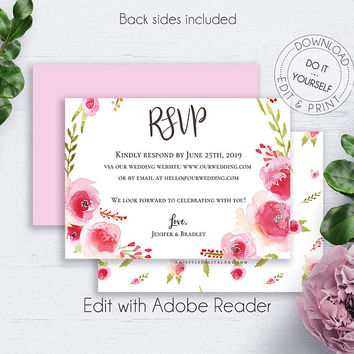 Rsvp late wedding