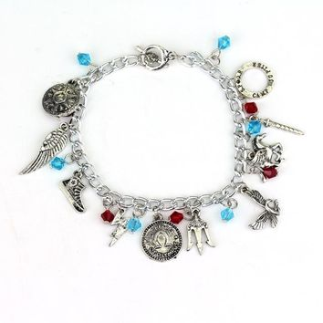 Avengers Charm Bracelet Doctor Who Horcrux Walking Dead Bangle Star Wars Supernatural Legend of Zelda Game of Thrones Bracelet