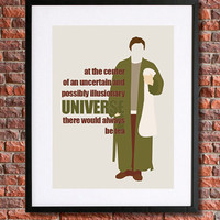 """Hitchhiker's Guide to the Galaxy Poster Art 