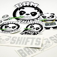 BAM SHIFTS Sticker Pack
