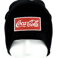 Coca-Cola Beanie Alternative Clothing Knit Cap Coke Soda Pop