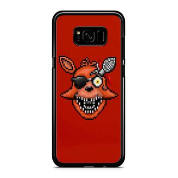 Five Nights At Freddy S 2 - Pixel Art - Foxy Samsung Galaxy S8 Plus Case