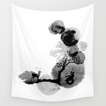 Swing Wall Tapestry by yeohgh