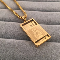 Gift New Arrival Jewelry Shiny Stylish Hot Sale Fashion Hip-hop Club Necklace [6542761091]