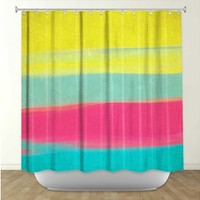 Artistic Shower Curtain | Rachel Burbee | Skies The Limit VI | Dianoche Designs