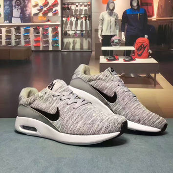 """NIKE AIR MAX MODERN FLYKNIT"" Fashion Casual Unisex Air Cushion Sneakers Couple Running Shoes"