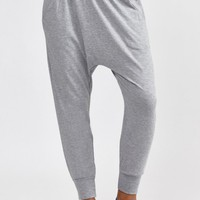 Crop Harem Pant in Heather Grey by Spiritual Gangster | New Arrivals | BANDIER