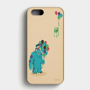 Monster Inc Baloon iPhone SE Case