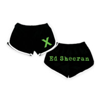 Ed Sheeran Black x Shorts