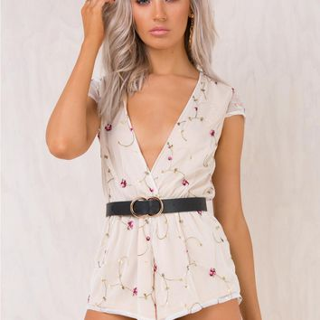 Lost Labyrinth Playsuit Nude