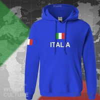 Italy Italia hoodie men sweatshirt polo sweat new hip hop streetwear clothing jerseys cotton tracksuit nation Italian flag ITA
