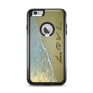 The Love beach Sand Apple iPhone 6 Plus Otterbox Commuter Case Skin Set