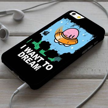 Kirby I Want to Believe X-Files Custom Case for iPhone 4/4s 5 5s 5c 6 6 plus 7 Case