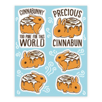CINNABUNNY STICKER SHEETS