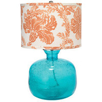 Jamie Young Lighting Table Lamp Base Jug Aqua