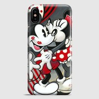 Hugs And Kisses Mickey Minnie Mouse iPhone X Case