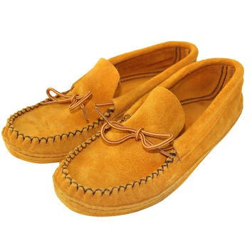 Men's Soft-Sole Suede Moccasins 197