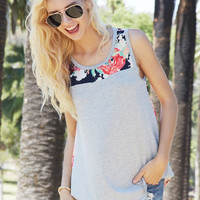 Finding Floral Tank Top