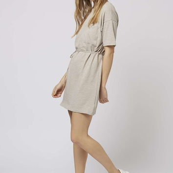 Belted T-Shirt Dress - Topshop