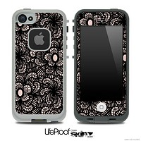 Shadow Flowers Skin for the iPhone 5 or 4/4s LifeProof Case