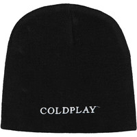 Coldplay Men's Viva La Vida Beanie Black