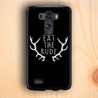 Dream colorful Eat The Rude Hannibal LG G3 Case