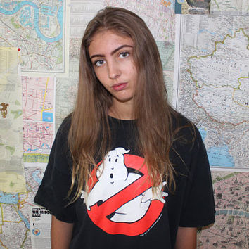 Vintage Oversized Ghostbusters Tee Shirt
