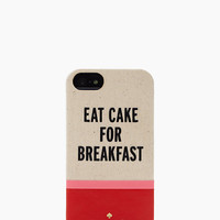 Kate Spade Eat Cake For Breakfast Iphone 5 Case Multi ONE