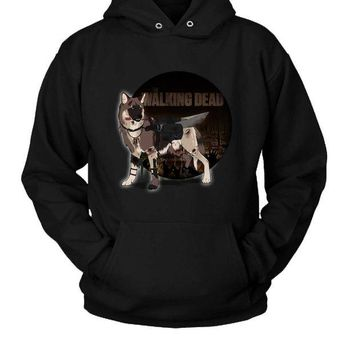 DCCKL83 The Walking Deads Hoodie Two Sided