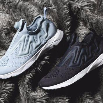 CREYNW6 Sale Reebok Pump Supreme Engine Fashion Shoes Sneaker Casual Shoes - 2 Color