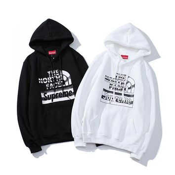 Supreme Women Long Sleeve Hooded Sweater