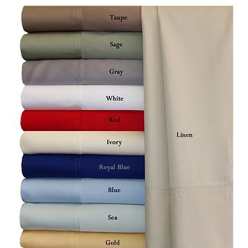 Split California king Super Soft 100% Viscose from Bamboo Sheet Sets