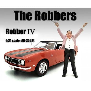 """""""The Robbers"""" Robber IV Figure For 1:24 Scale Models by American Diorama"""