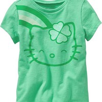 Old Navy Hello Kitty Shamrock Tees For Baby