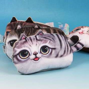 Big Eyed Cats Pencil Cases (5 Styles)