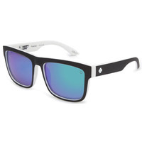 Spy Happy Lens Discord Polarized Sunglasses Whitewall/Happy Bronze Polar/Green Spectra One Size For Men 22703512501