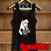 Punk Alice Wonderland Tank top Mens and Tank top Womens Size S-2XL
