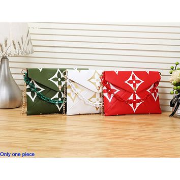 Louis vuitton hot seller of casual shoulder bags for women with fashionable printed briefcases