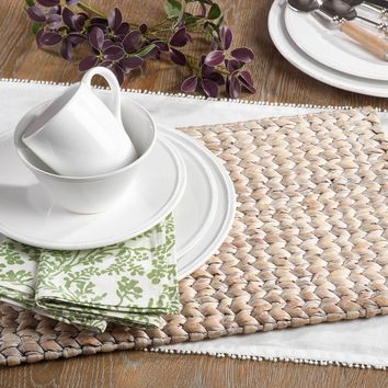 Water Hyacinth Placemat | Set of 4