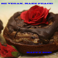 Vegan Gluten free double chocolate almond butter donuts,  love and compassion,natural,healthy,gluten free ingredients,birthday,wedding.