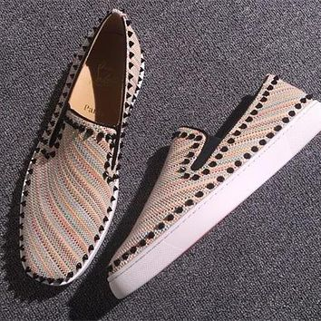 Cl Christian Louboutin Flat Style #766 - Best Deal Online