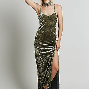 Only Hearts Womens Velvet Lengths Maxi