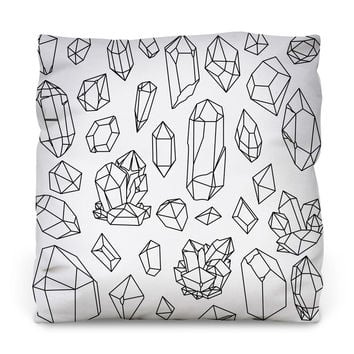 Gems Collection Outdoor Throw Pillow