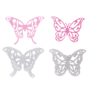 1pcs New Metal Steel Beautiful Butterfly Cutting Dies Stencil For DIY Scrapbooking Album Paper Card Photo Decorative Craft