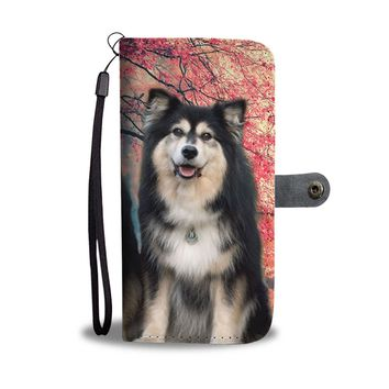 Finnish Lapphund Wallet Case- Free Shipping