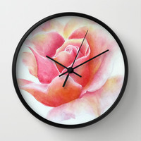 Primrose Wall Clock by Susaleena