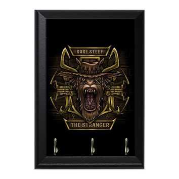 Wanted Dead Or Alive Decorative Wall Plaque Key Holder Hanger