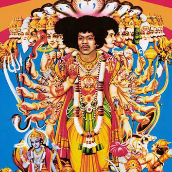 Jimi Hendrix Axis: Bold As Love Poster 24x36